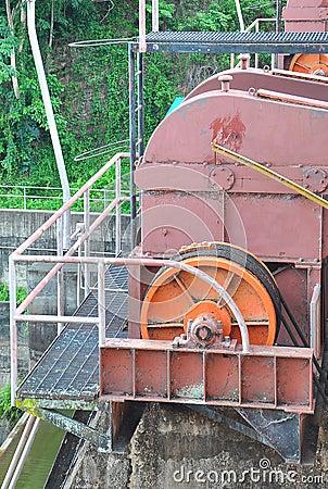 Motor of dam