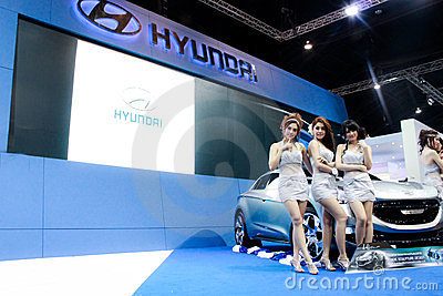 MOTOR EXPO BANGKOK, THAILAND Editorial Photo