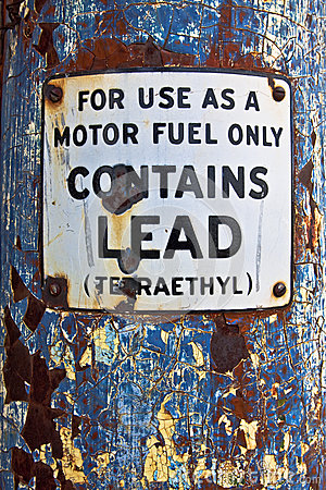 Motor Fuel Only Sign