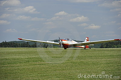 Motor Glider Editorial Photography