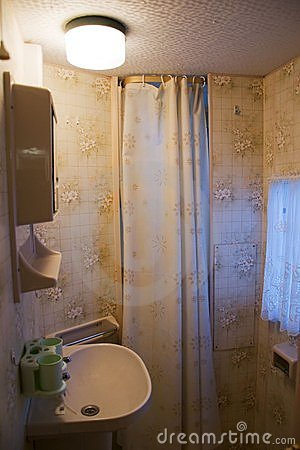 Motor home bathroom