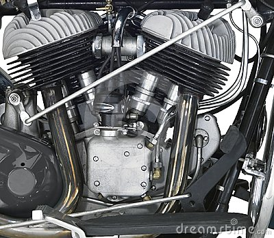 Motor of a motorbike
