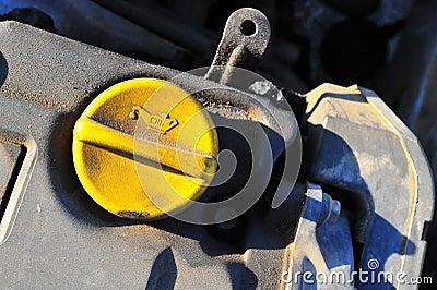 Motor oil cap