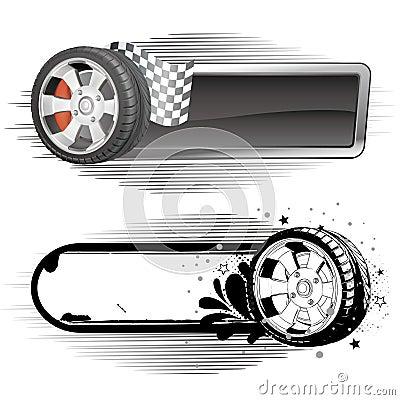 motor racing element