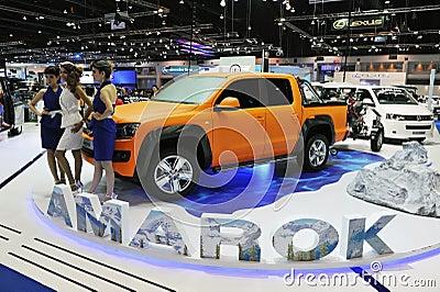 Motor Show in Bangkok Editorial Stock Image