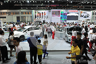 Motor Show in Bangkok Editorial Photography