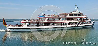 Motor vessel Stuttgart Editorial Photography