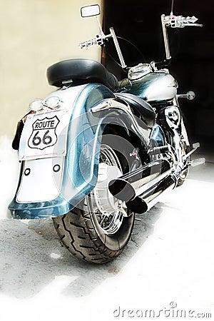 Motorbike chopper