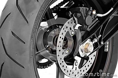 Motorbike disc brake
