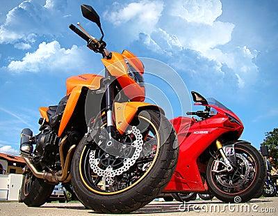 Motorbike event Editorial Photo
