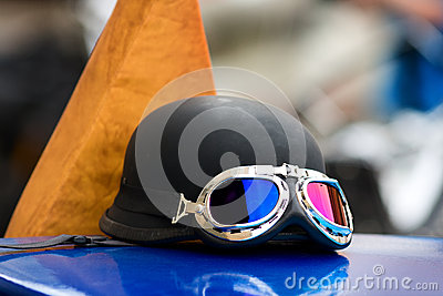 Motorbike goggles