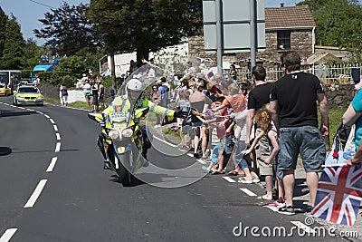 Motorbike Policeman Editorial Image