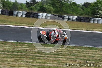 Motorbike Racing Championship Editorial Stock Photo