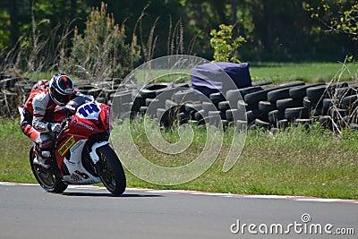 Motorbike racing Editorial Photo