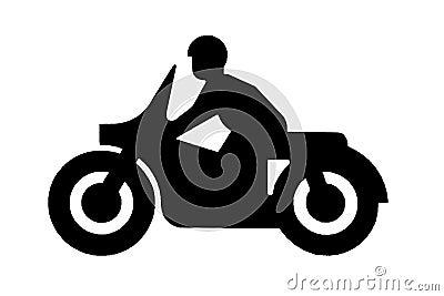 Motorbike sign