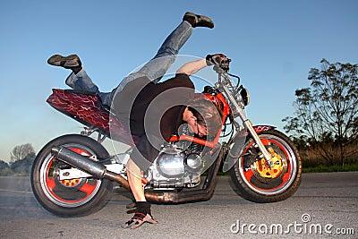 Motorbike Stunt