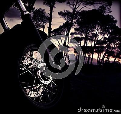 Motorbike wheel