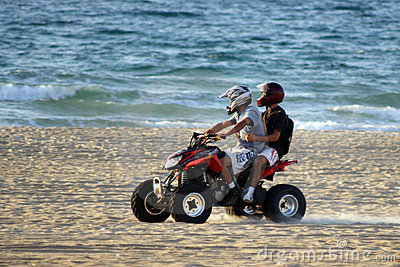 Motorbikes on the beach #5