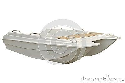 Motorboat catamaran