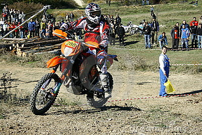 Motorcross Editorial Image