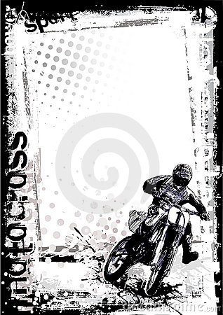 Motorcross background