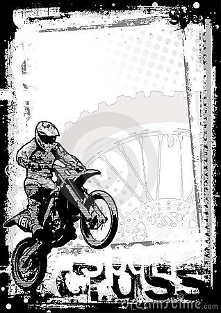 Motorcross background