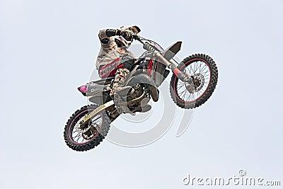 Motorcross jump Editorial Image
