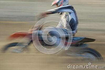 Motorcross panning