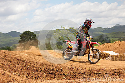 Motorcross racing Editorial Image