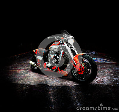 Free Motorcycle Stock Photography - 27743732