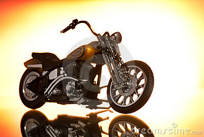 Motorcycle Editorial Stock Image
