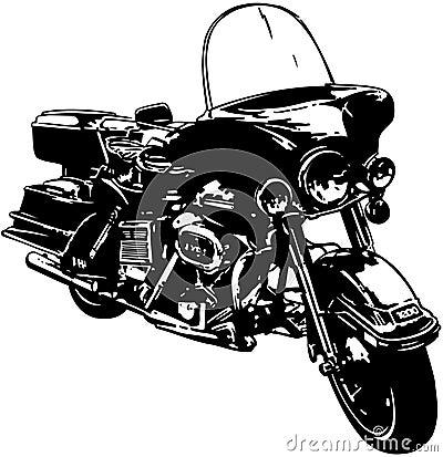 Motorcycle Bike Cartoon Vector Clipart Stock Vector ...