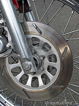 Free Motorcycle Brakes Stock Photography - 15768432