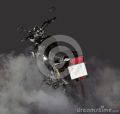 Motorcycle burnout
