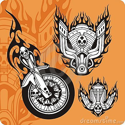 Motorcycle compositions - set 9