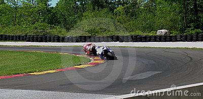 Motorcycle Cornering Race