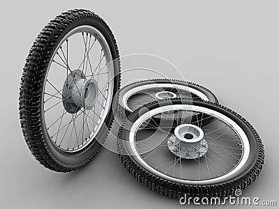 Motorcycle cross tyre