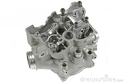 Motorcycle Cylinder Head (top view)