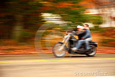Motorcycle drive-by
