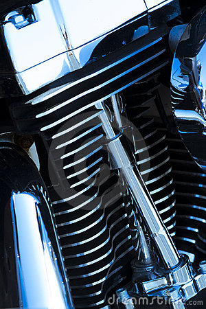 Motorcycle engine details