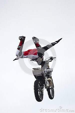 Free Motorcycle Extreme Performance Stock Photos - 83843803