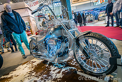 motorcycle harley davidson fxsb softail breakout crazy diamond editorial photo image 70811121. Black Bedroom Furniture Sets. Home Design Ideas
