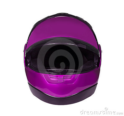 Motorcycle helmet with visor