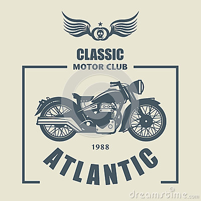 Free Motorcycle Label Royalty Free Stock Image - 37359566
