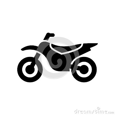 Free Motorcycle, Motorbike Icon Simple Flat Vector Illustration Stock Images - 93388094