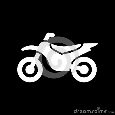Free Motorcycle, Motorbike Icon Simple Flat Vector Illustration Stock Photography - 93388122
