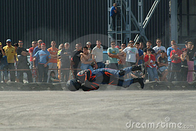 Motorcycle races Editorial Image