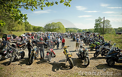 Motorcycle rally Editorial Photo