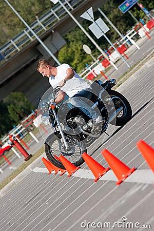 Free Motorcycle Ride Royalty Free Stock Image - 21580386