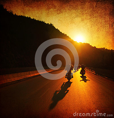Free Motorcycle Ride Stock Photography - 25920932